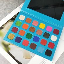 Custom palette eyeshadow high pigment glitter private label eyeshadow palette
