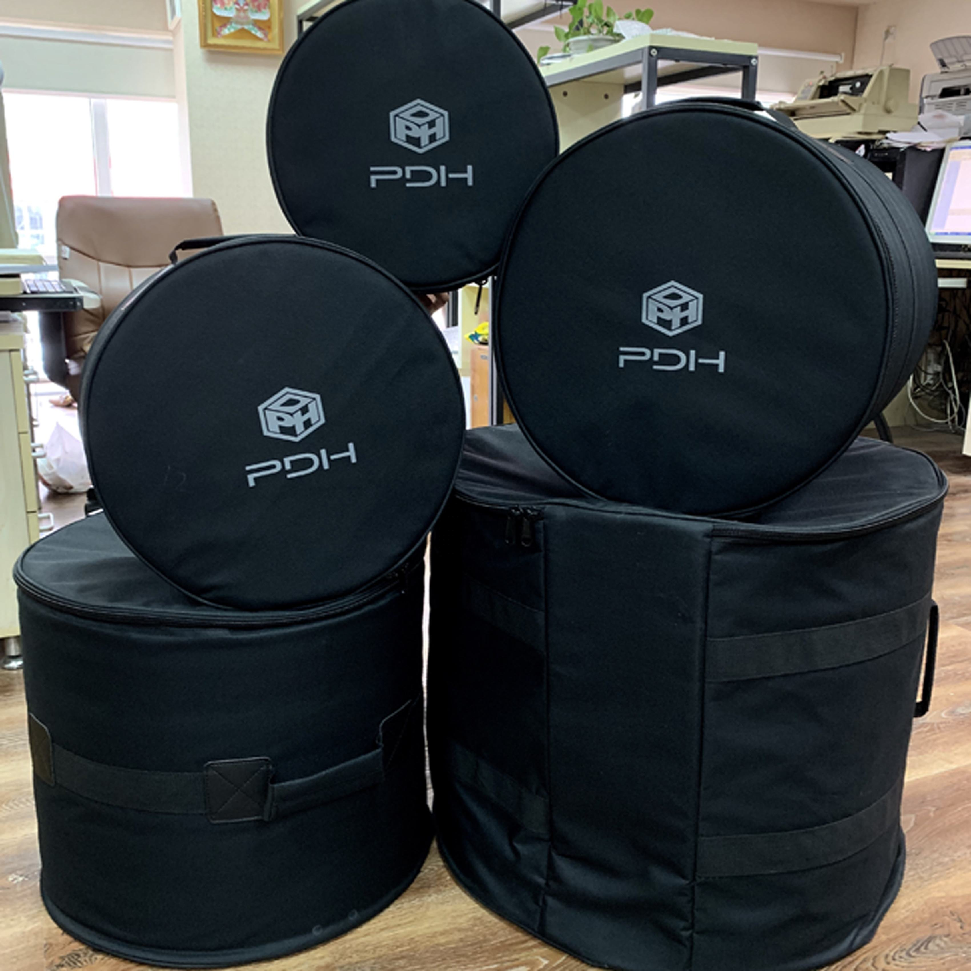 5 piece Padded Drum Bag Set for Standard Kits