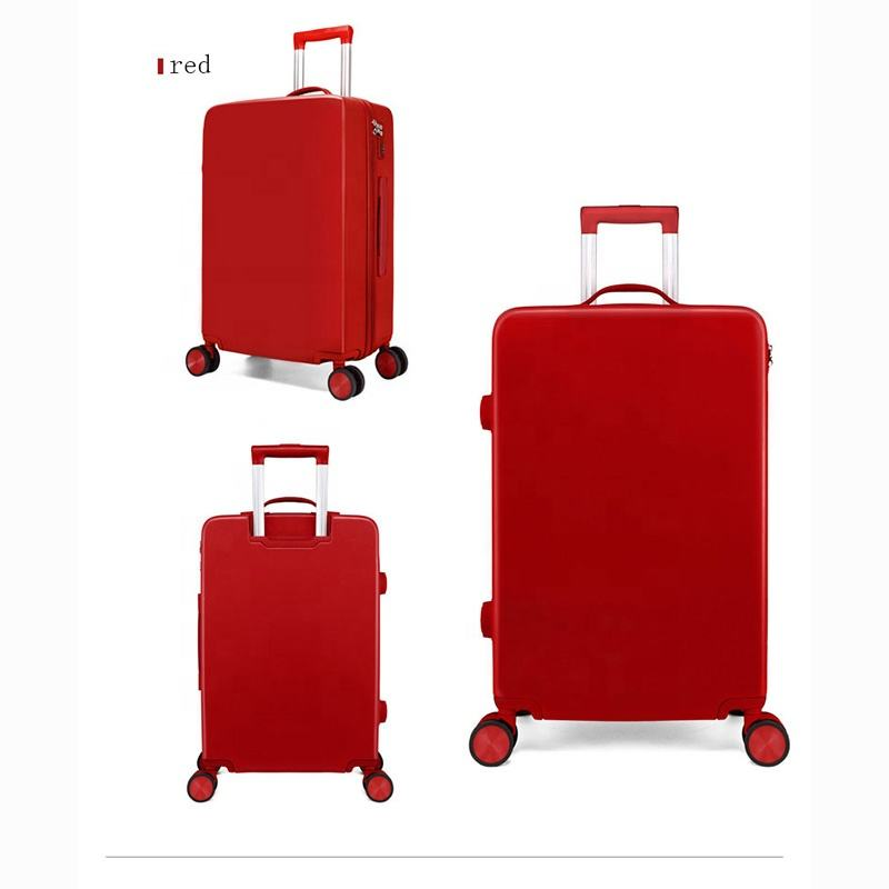 Custom Made OEM Design Pure Color PC Suitcase Covers Travel With High Capacity