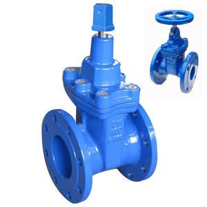 gate valve pn 16 dn 300 din rising stem and non-rising stem gate valve water gate valve