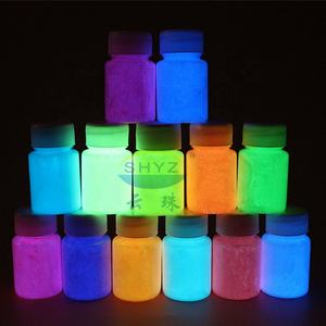 Water Base Luminous Spray Coating Color Pigment Glow In The Dark Powder