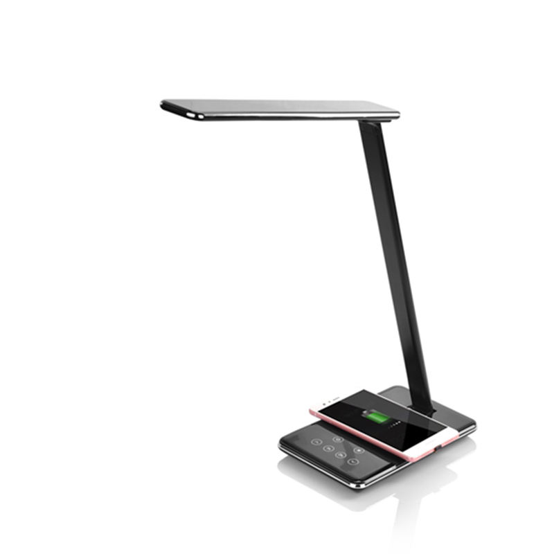China Supplier 5W Touch Foldable Wireless Led Desk Lamp