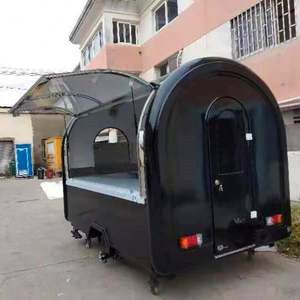 Walking charcoal bbq, alcoholic wax fast food trailer, hand push food cart for sale