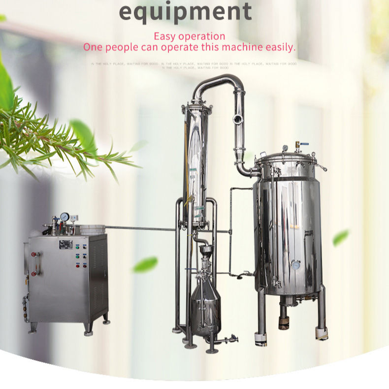 Factory Price 1688 Eucalyptus Oil Extraction Machine Lavender Essential Oil Making Machine Hemp Oil Extractor Machine