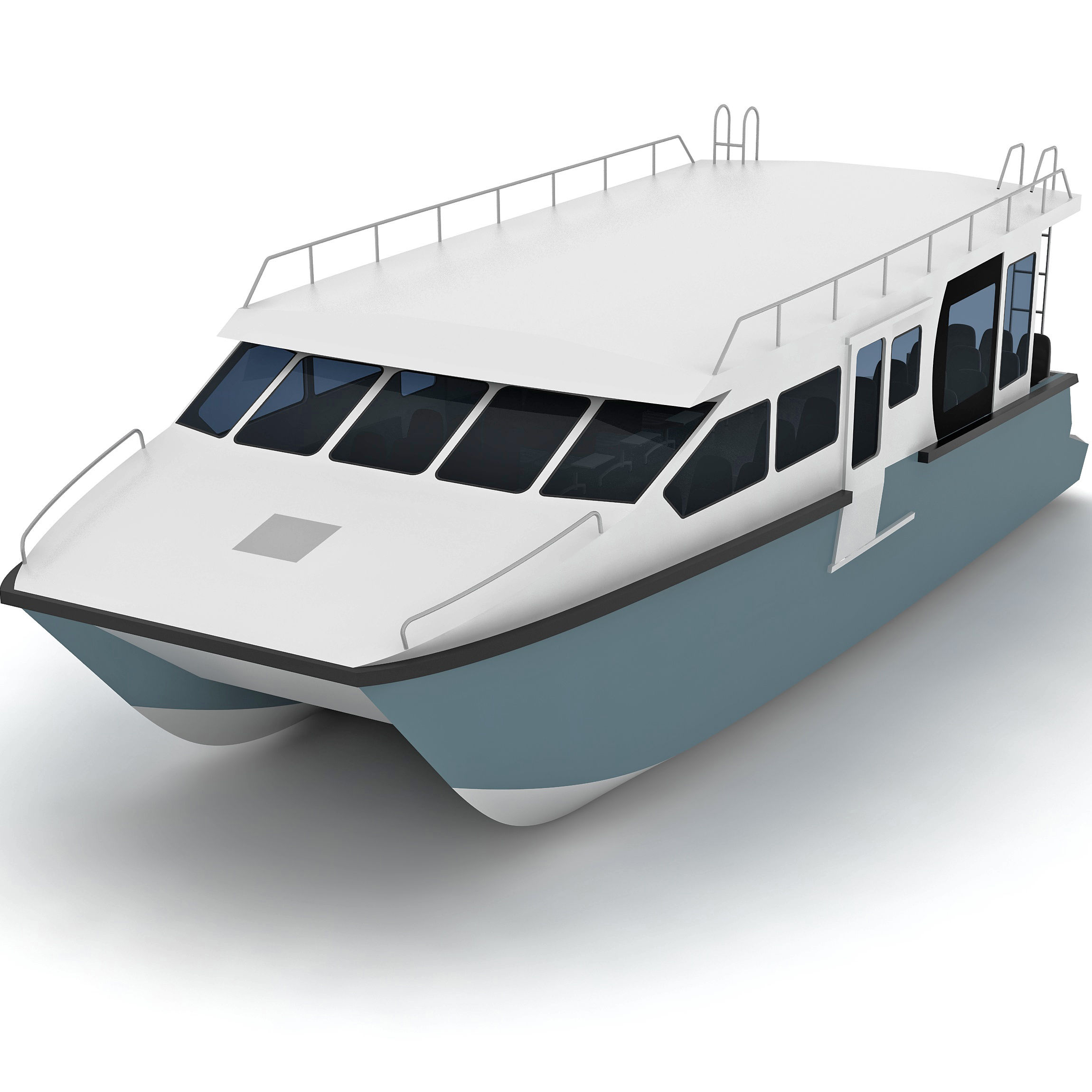 13m 50 seats Aluminum catamaran passenger boat ferry boat for sale