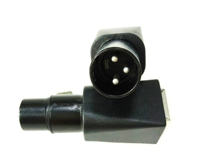 XLR 3PIN STECKER ZU RJ45 JACK ADAPTER