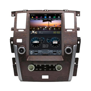 Android auto-video dvd-player stereo radio pioneer bluetooth gps navigation system für Nissan Patrol SE Plus-Holz (high End)