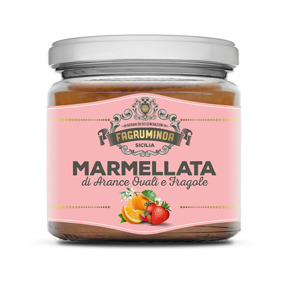 Natural Product Strawberry Sweet Marmalade In Jars Real Jam