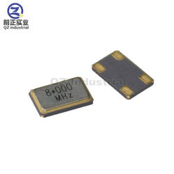 QZ shenzhen high quality 5*3.2mm 4pin SMD 5032 8MHz passive Quartz Crystal Resonator