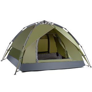 2020 Factory Wholesale Rainproof Family Double Layer Easy Carring Camping Tent With 3-4 Person