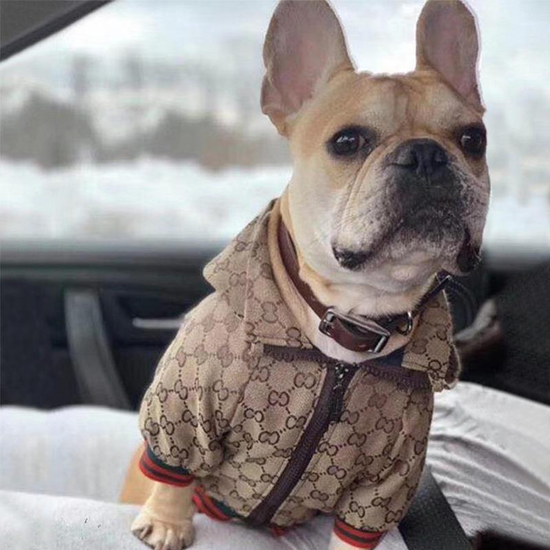 Fashion french bulldog clothes luxury pet dog clothes dog jacket coat pet clothing apparel