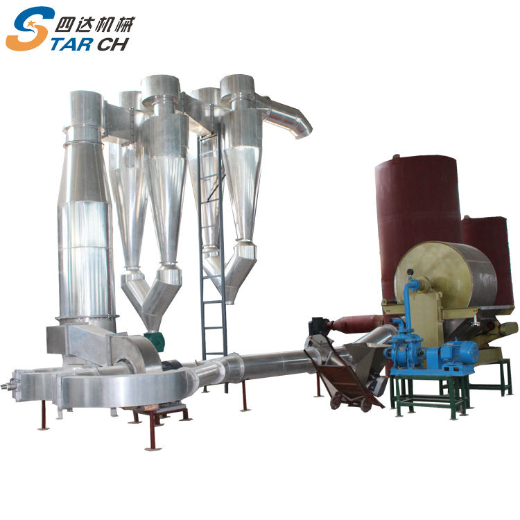 Big scale 40-50tons output capacity automatic cassava yam production line for flour