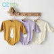 Q2-baby 2019 Autumn Cartoon Rabbit Knitted Cotton Long Sleeve Jumpsuit Baby Boy Girl Rompers