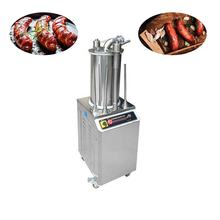Automatic hydraulic sausage filling machine price With meat process machine