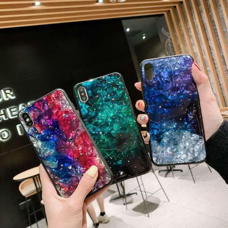 2019 new customized phone cover TPU glitter shell paper crystal phone case for iPhone 11/11 Pro/ XR/X/8/7