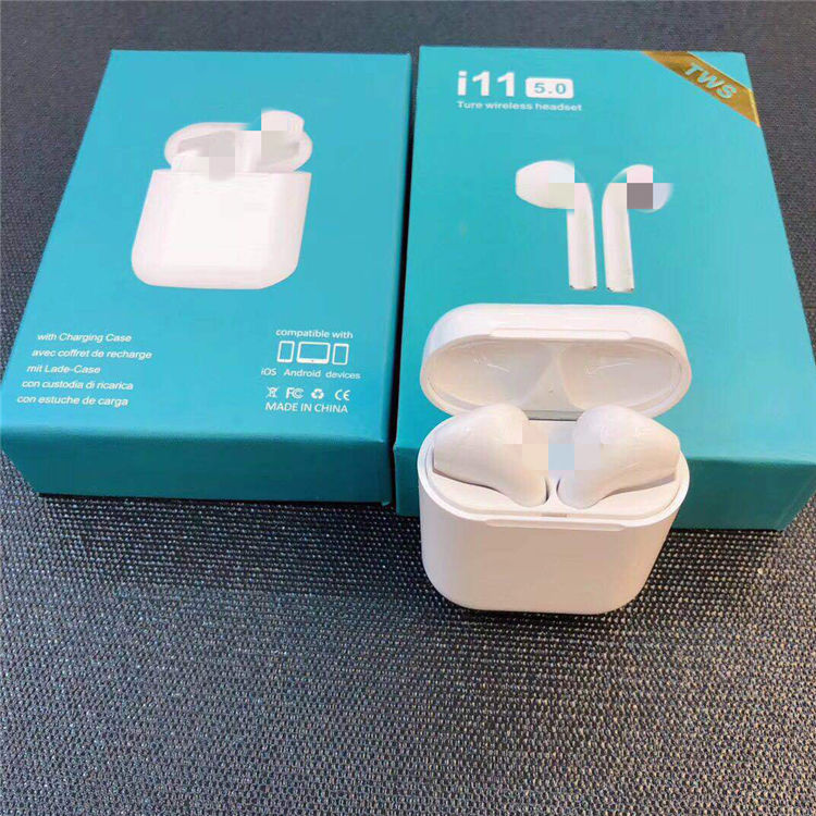 PopUp Window Version Original Factory TWS i11 TWS Bluetooths Headphones Earphones wireless iPods