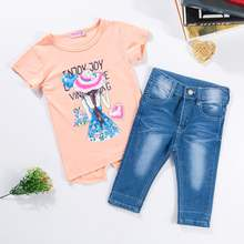 2020 Little Girls Dressy Outfit Sets Summer Clothes Children Girls Sets