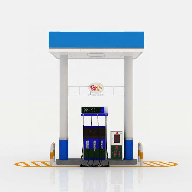 Manufacture petrol station design canopy gas station canopy design
