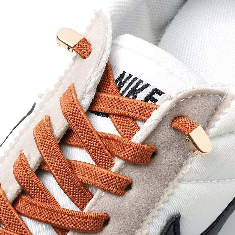 No Tie Shoe laces Elastic Shoelaces Outdoor Leisure Sneakers Quick Safety Flat Shoelace Kids And Adult Unisex Lazy laces
