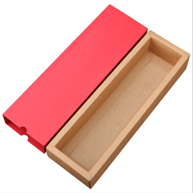 Wholesale custom moon cake candy biscuit Kraft paper folding drawer box scented tea tea gift packaging box