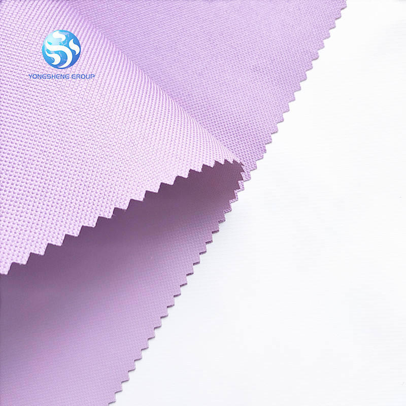 100% polyester waterproof 600dx300d pvc coating oxford fabric for backpacks