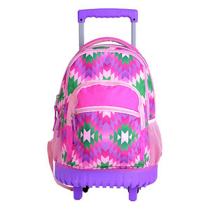 Rolling Backpacks Children School Bags Students Backpack Trolley Wheels Bags for Kids