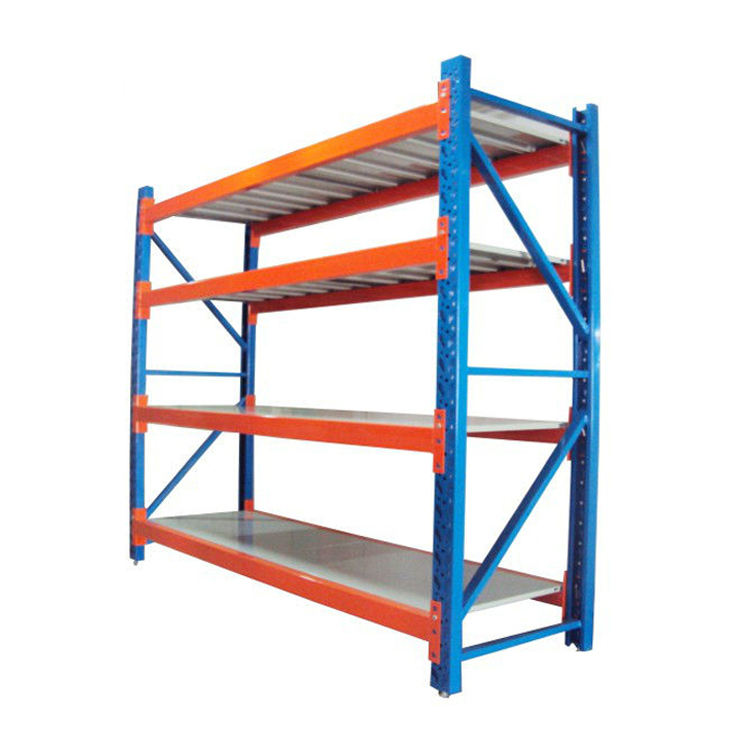 heda Manufacture Factory 500KG Metal Medium Duty Warehouse Storage Rack Shelf for industrial shelves racking system
