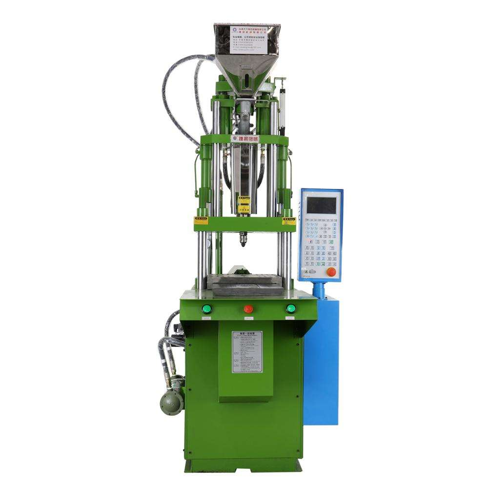 Vertical Injection Molding Machine with single sliding table