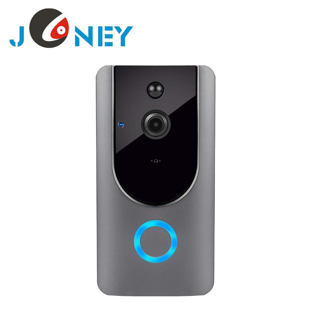 Tuya Smart wifi video doorbell camera smart life mobile application remote monitoring two way audio video intercom