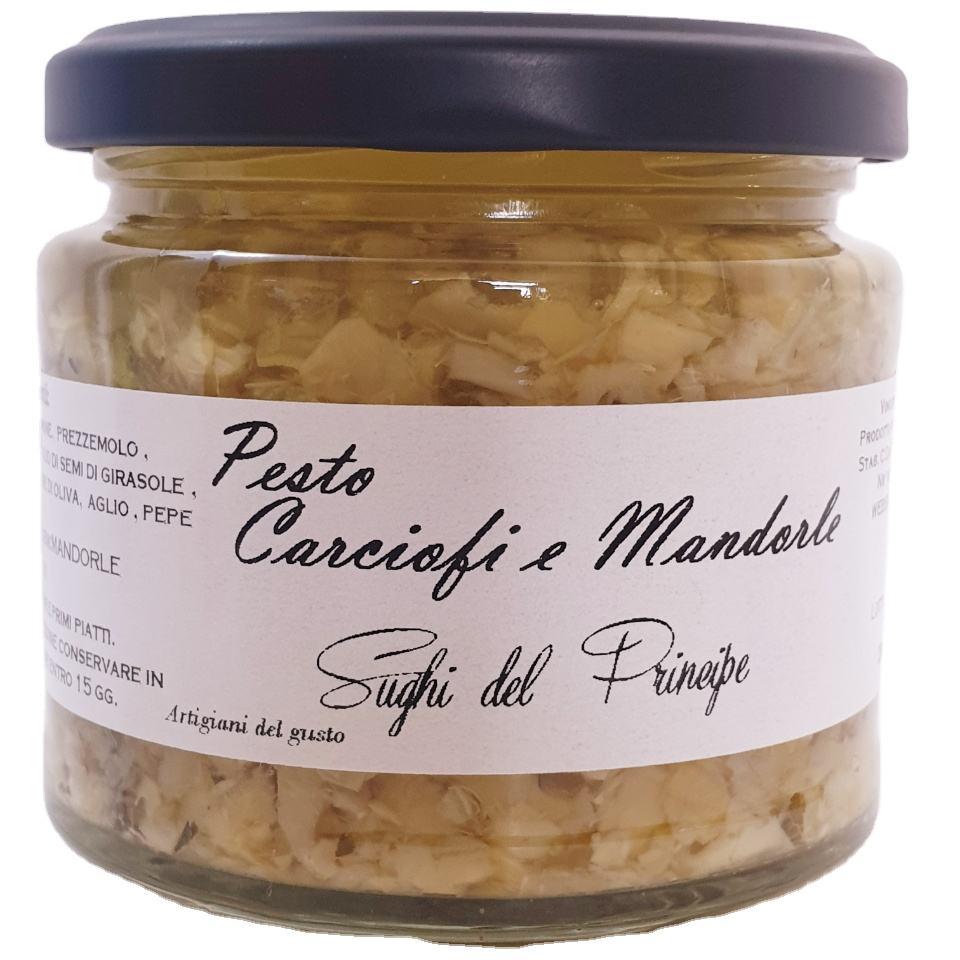 Italian Pesto Artichokes and Almonds Best fo Pasta