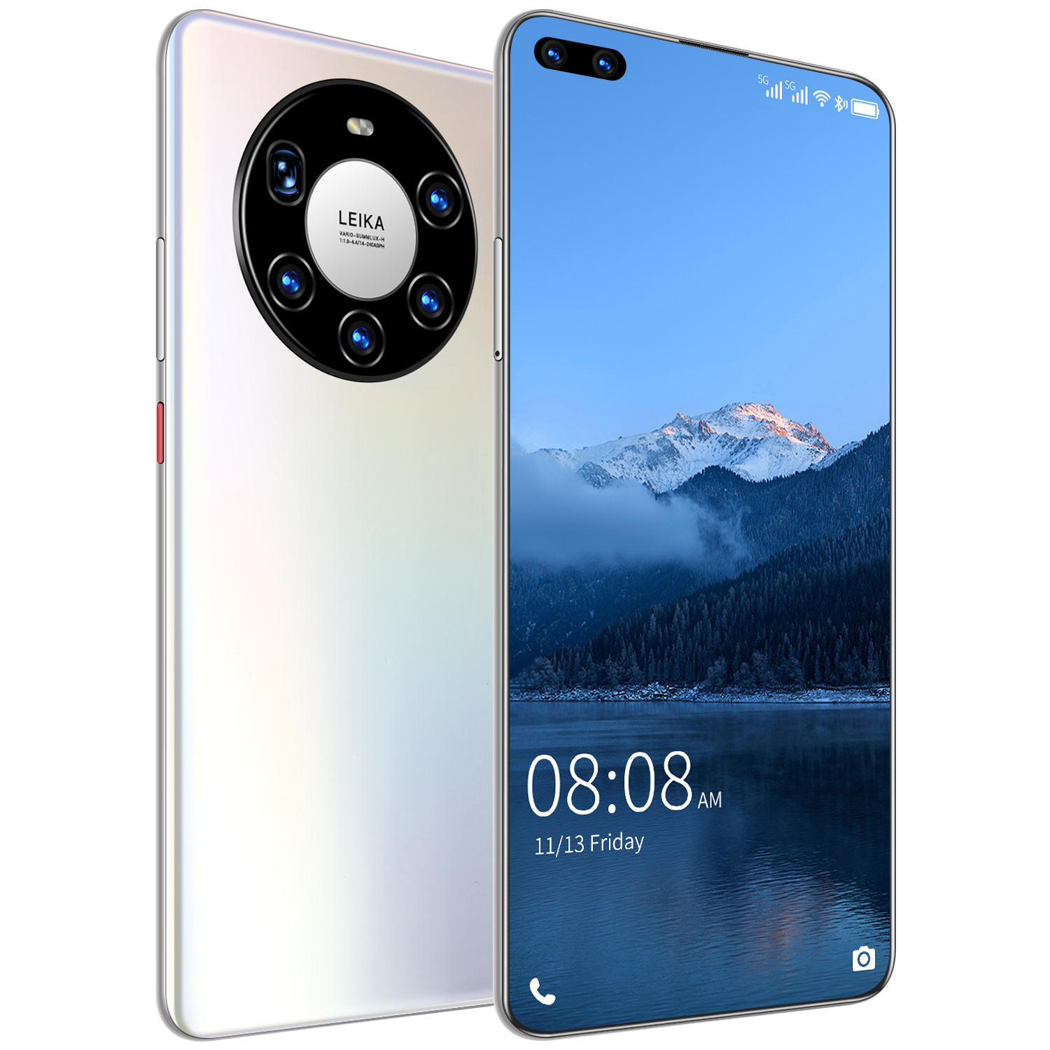 Mate40 Pro+ 12GB+512GB 7.3 Inch Global Version Support Dual SIM Card Android Smartphone Mobile Phones