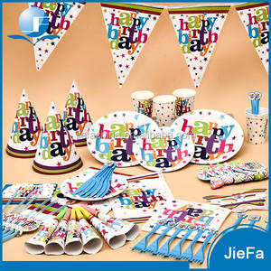 Happy Birthday Set Party Supplies and Decorations