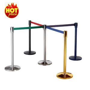 Guangzhou MAX movie theater metallo barriera di controllo folla barricata della retrattile cintura stanchions per il controllo della folla