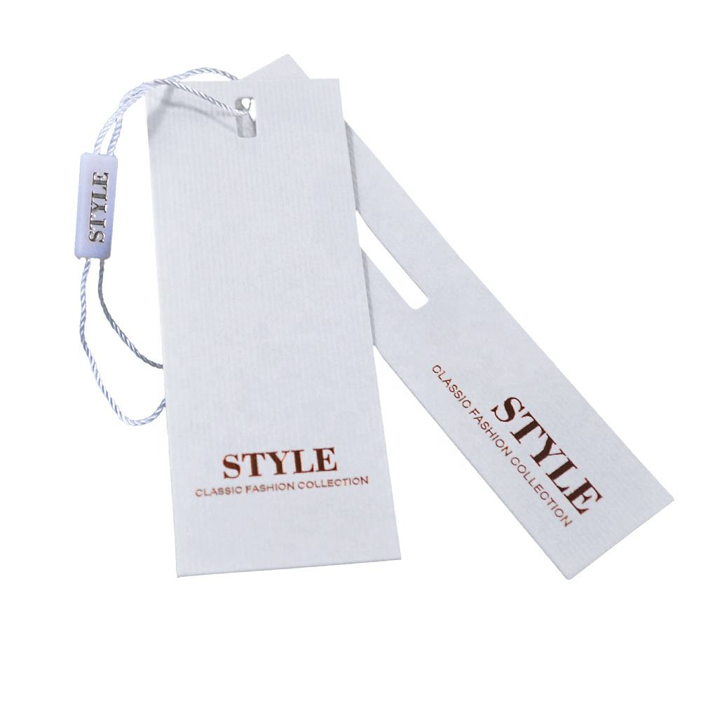 Direct Sale New Design Custom Clothing Hang Tags