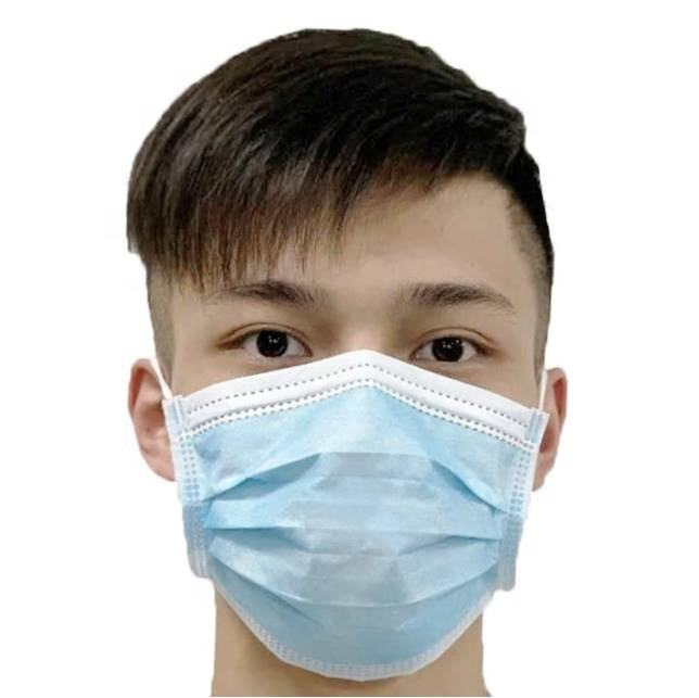 3 ply disposable Face Mask In Stock Non woven Disposable dust face mark wholesalers