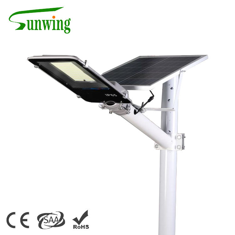 Solar energy generator Factory directly street light customized modern antique solar lamp with post