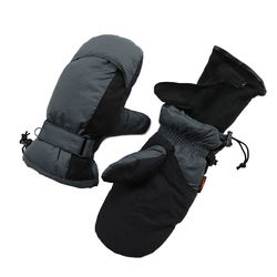 Removable Touch Screen Tactical Antislip Down Motorcycle Ski Bike Heated Winter Gloves