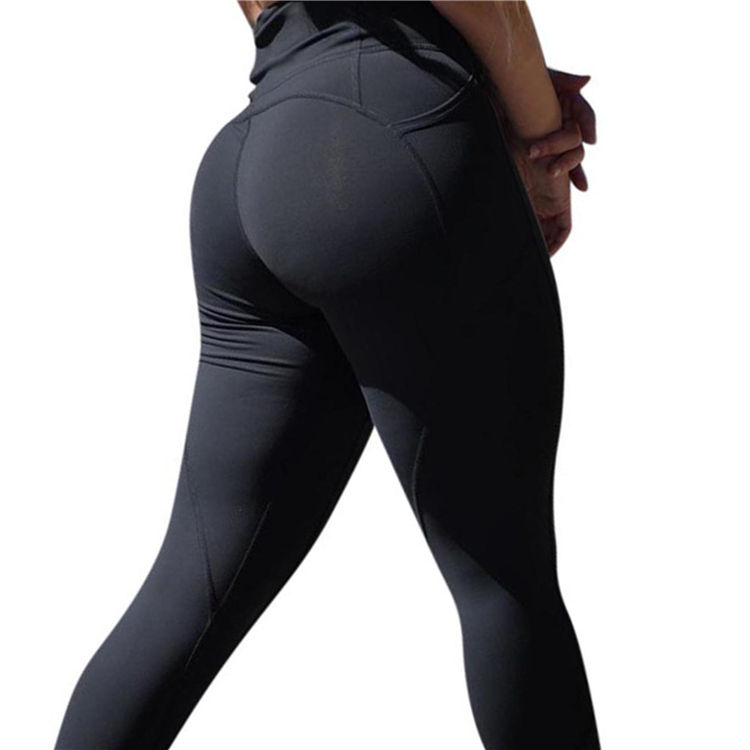 Custom design free sample two piece butter soft camel toe tights woman yoga leggings gym