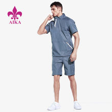 Custom Men Sports Wear Fancy Cool Style Lightweight Breathable Gym Running Short Suit