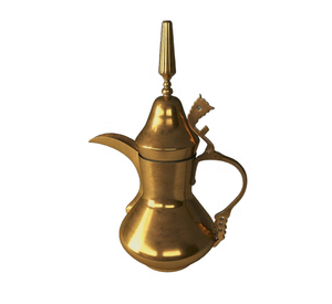 Brass Teapot Coffee Dallah