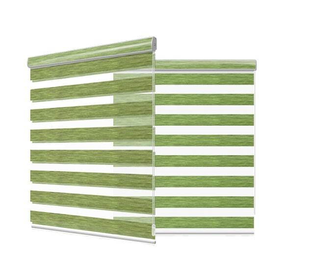 double layer zebra roller blind zebra smart window blinds