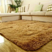 Super Soft Indoor Modern Shag Area Silky Smooth Fur Rugs Fluffy Rugs Anti-Skid Shaggy Area Rug