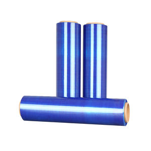 LLDPE soft colored hand manual blue stretch film