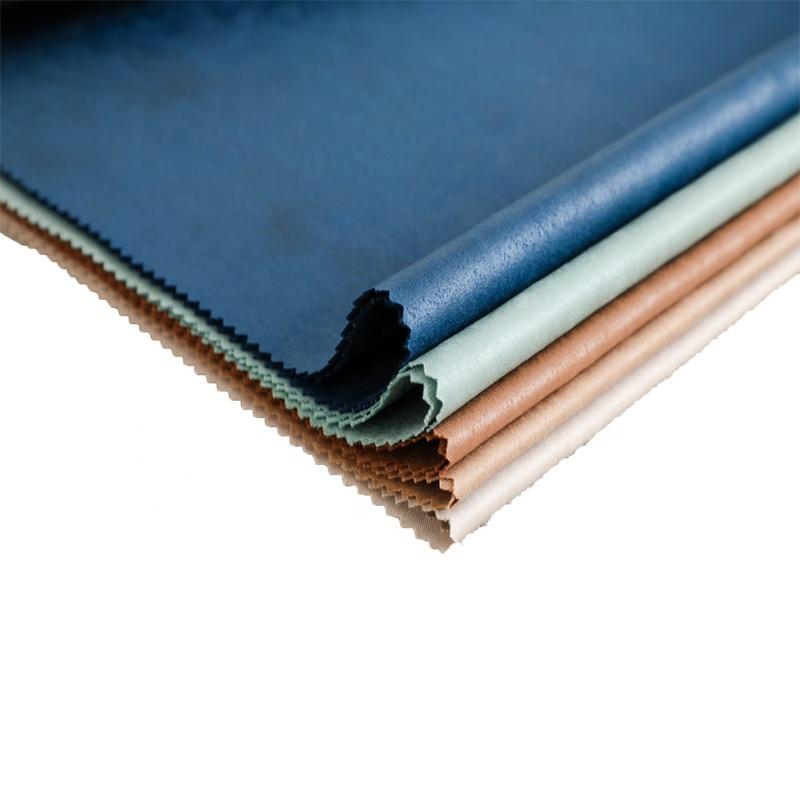 Nuovo design <span class=keywords><strong>impermeabile</strong></span> vento Poliestere lavorato a maglia tessuto della pelle scamosciata Per giacca di pelle scamosciata