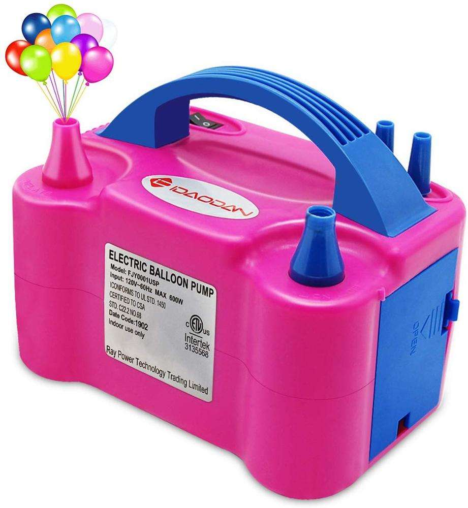 Wholesale balloon inflation electric balloon pump for balloon accessories globo pump Ballon inflator