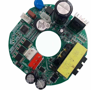 AC/DC 60W Ceiling Fan PCB Brushless Fan Control Boards with Cable and Remote
