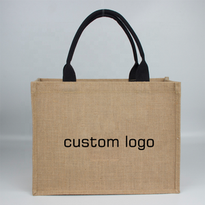 Wholesale Factory Directly Quality Nature Jute Shopping Tote Jute Bag
