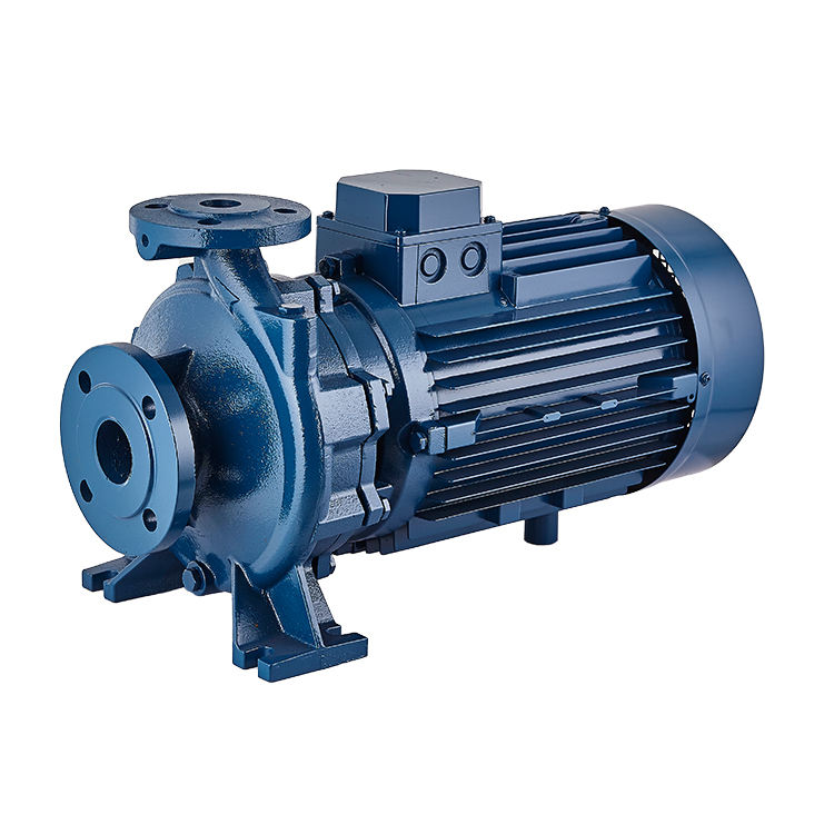 Horizontal centrifugal end suction standard centrifugal electric water monoblock pump