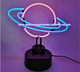 Neon Light for Saturnian Ring