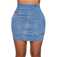 2020 new arrival faldas Top Design Fashion mini denim skirt fashionable jean skirt for lady women made in guangzhou